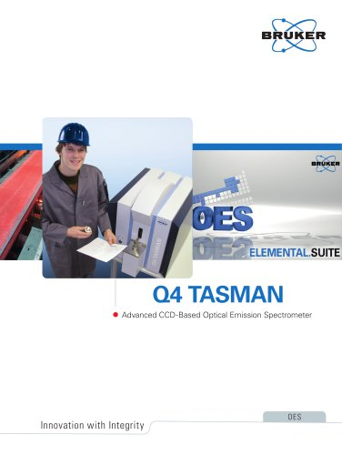 Q4 TASMAN - Advanced CCD-Based Optical Emission Spectrometer