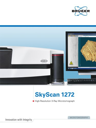 SkyScan 1272 - High Resolution X-Ray Microtomograph