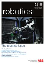 A customer magazine from ABB Robotic