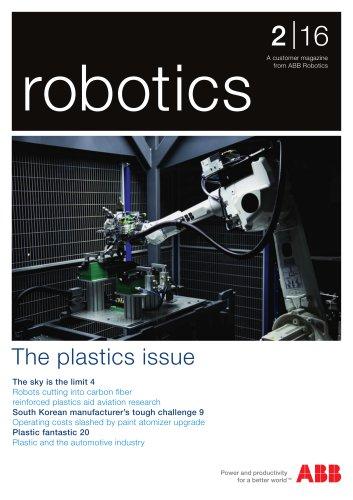 A customer magazine from ABB Robotic