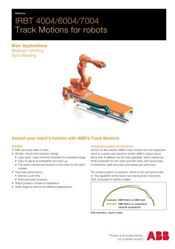 IRBT X004 Track Motion