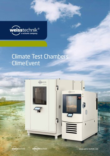 Climate Test Chambers, Type ClimeEvent