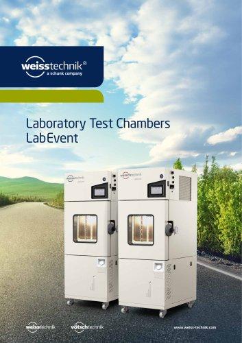 Laboratory Test Chambers, Type LabEvent