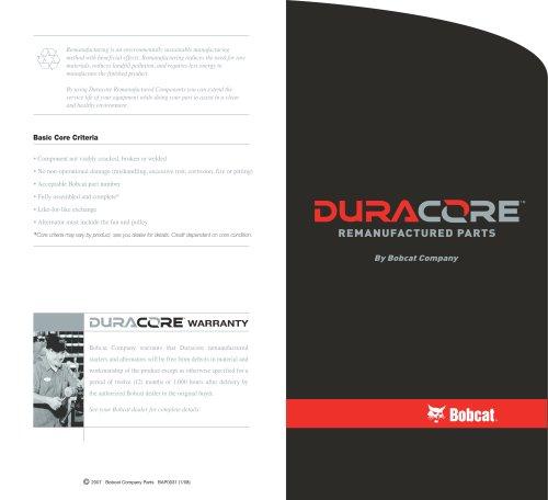 Duracore Electrical Brochure