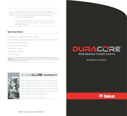 Duracore Engine Brochure
