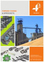 4B Forged Chains & Sprockets for the Toughest Applications