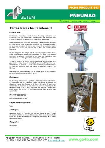 Pneumag Séparateur Magnétique pour Transport Pneumatique