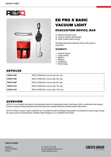 ED PRO X BASIC VACUUM LIGHT