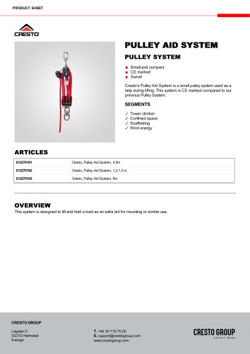 PULLEY AID SYSTEM