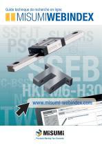 MISUMIWEBINDEX - Votre guide technique de recherche en ligne.