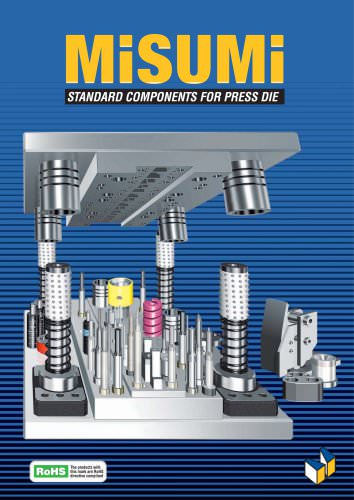 Standard components for press die