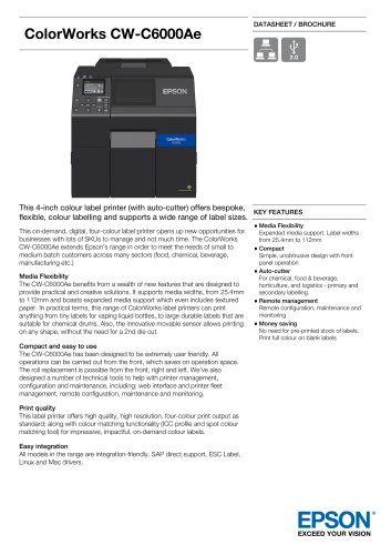 ColorWorks CW-C6000Ae