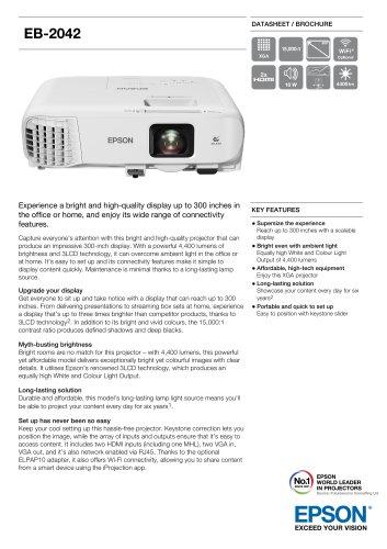 EB-2042 Datasheet / Brochure