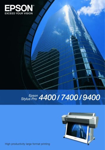 Epson Stylus Pro 7400