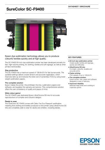 SureColor  SC-F9400