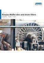 ANDRITZ Krauss-Maffei disc and drum filters
