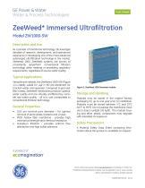 ZeeWeed 1000 Seawater- Model ZW1000-SW