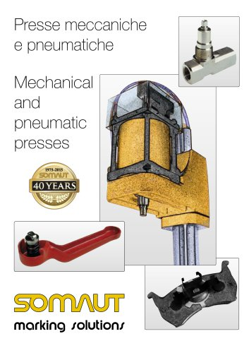 Mechanical and pneumatic presses