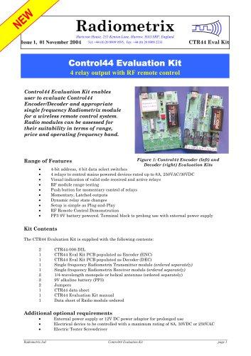 Control44 Evaluation Kit