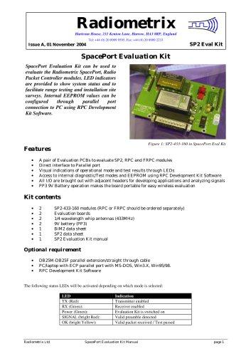 SP2 Evaluation Kit
