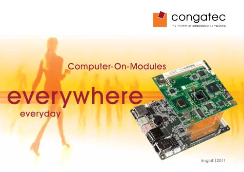 congatec Product Guide