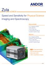 Zyla for Physical Sciences sCMOS