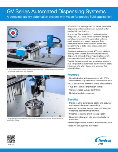 GV Series Automated Dispensing Systems