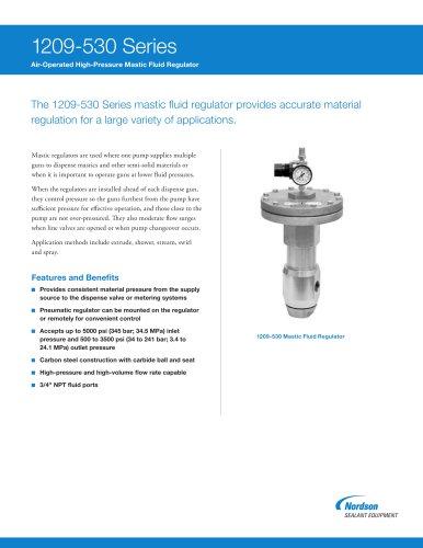 Material Fluid Pressure Regulator