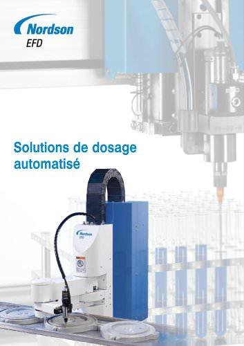 Robots de Dosage Nordson EFD