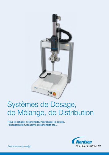 Systèmes de Dosage, de Mélange, de Distribution