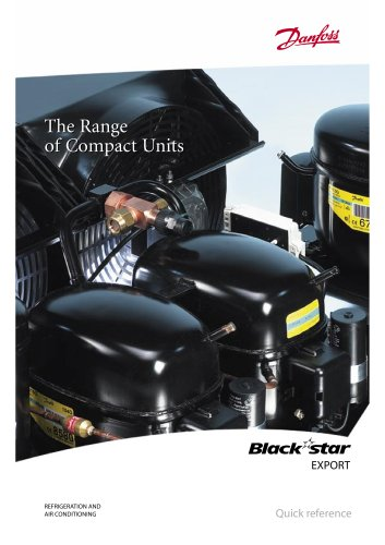 BLACKSTAR (EXPORT) The Range of Compact Units