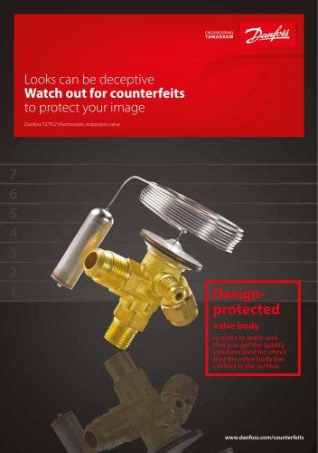 Danfoss T2/TE2 thermostatic expansion valve