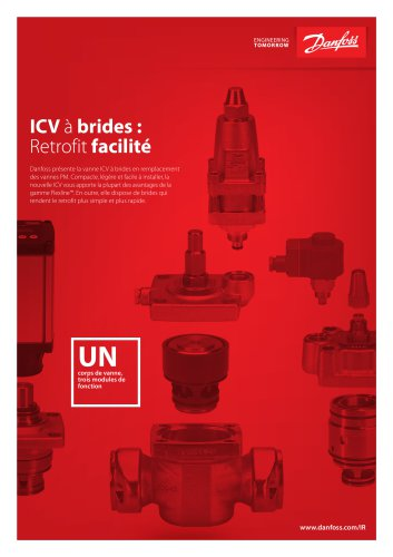 ICV with flanges: Retrofit made easy