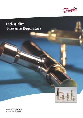 Pressure Regulators - KVP, KVD, KVR and NRD, KVC, CPCE and LG, KVL