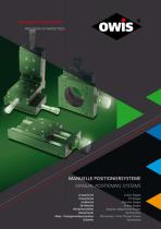 Manual Positioning Systems - Catalog