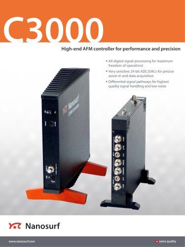 Nanosurf C3000 controller