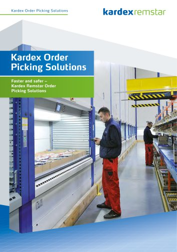 Kardex Order Picking Solutions