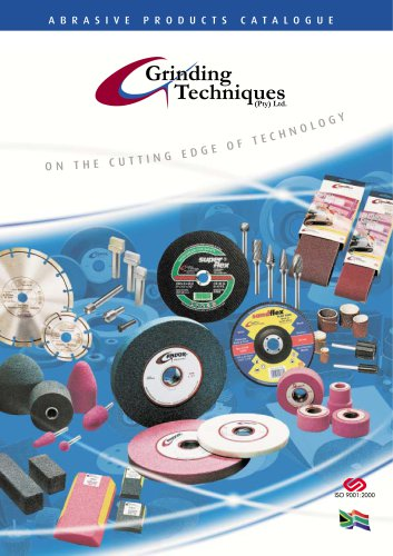 ABRASIVE PRODUCTS CATALOGUE