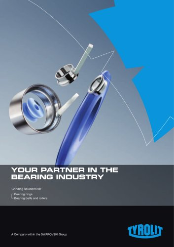 Your Partner in the Bearing Industry