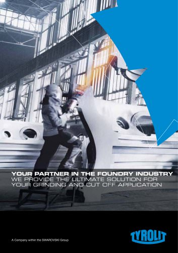 Your Partner in the Foundry Industry