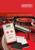 QUALITY CONTROL INSTRUMENTS FOR COATINGS