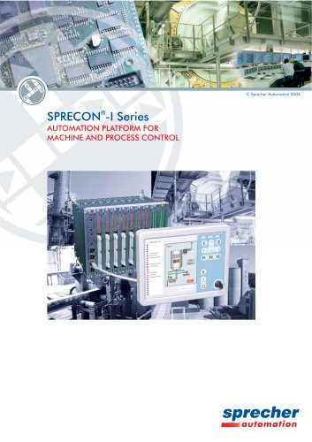 SPRECON-I Series Automation platform for machine and process control