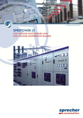 SPREPOWER LV LOW VOLTAGE SWITCHGEARS AND LOW VOLTAGE DISTRIBUTION BOARDS