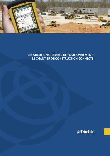 Construction Positioning Solutions Brochure - French
