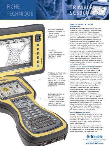 Fiche Technique Trimble SCS900