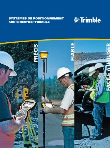 Site Positioning Systems Brochure - French