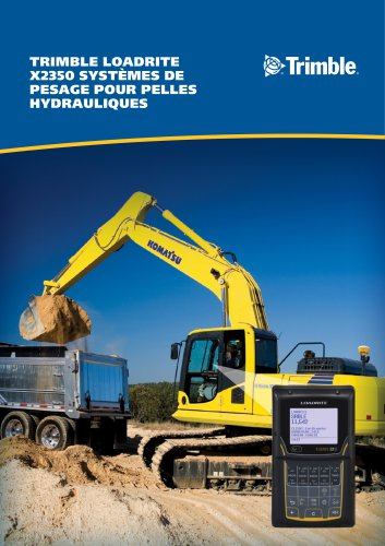 TRIMBLE LOADRITE X2350 PAYLOAD SYSTEM