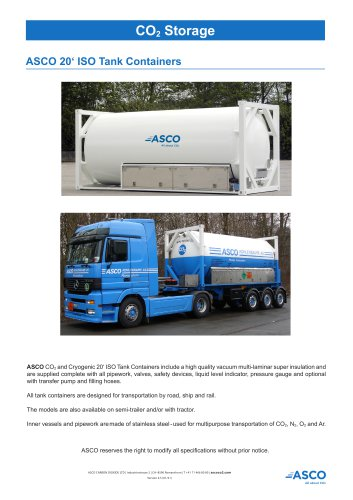 20' ISO-Tank Container