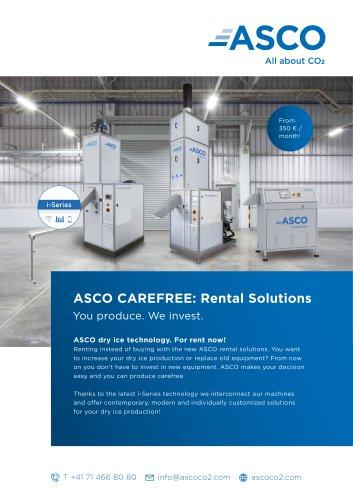 ASCO Carefree Rental Options
