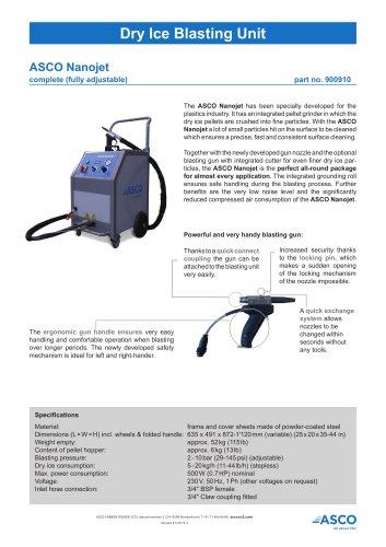 Dry Ice Blasting Unit Nanojet